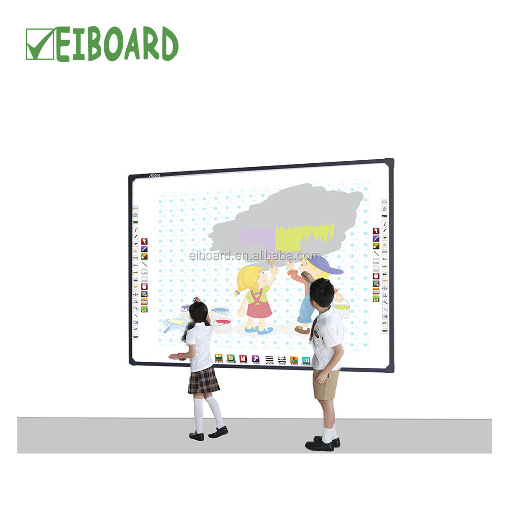Mobiele stand multi-user board interactive whiteboard uit EIBOARD