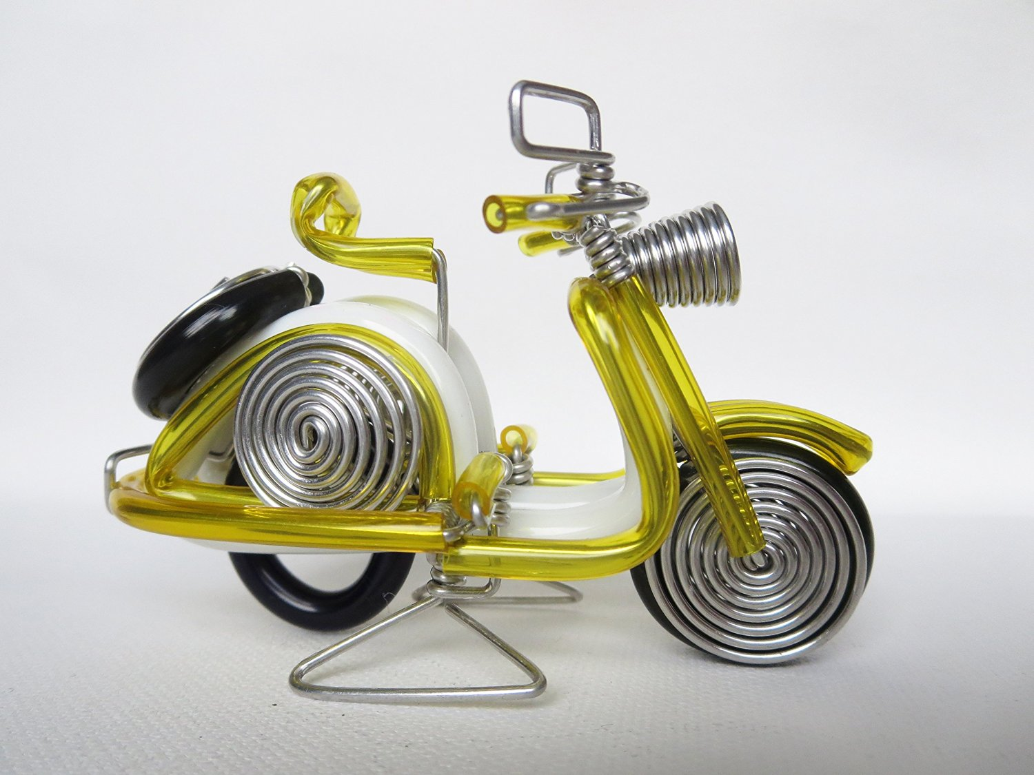 Buy Yellow Vespa Scooter Motorcycle Model Handmade Vespa Wire