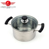 2016 multiple usage double-layers stainless steel food steamer/double boiler