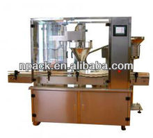 injection vial powder filling machine and sealing machine