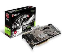 MSI Gaming GeForce GTX 1080 8GB GDDR5X SLI DirectX 12 VR Ready Graphics Card (GTX 1080 SEA HAWK EK X)