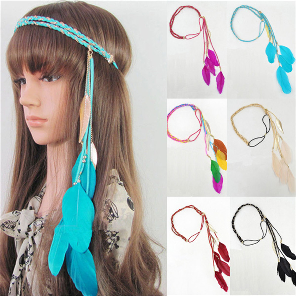 Compra Hippie De Pelo Bandas Online Al Por Mayor De China
