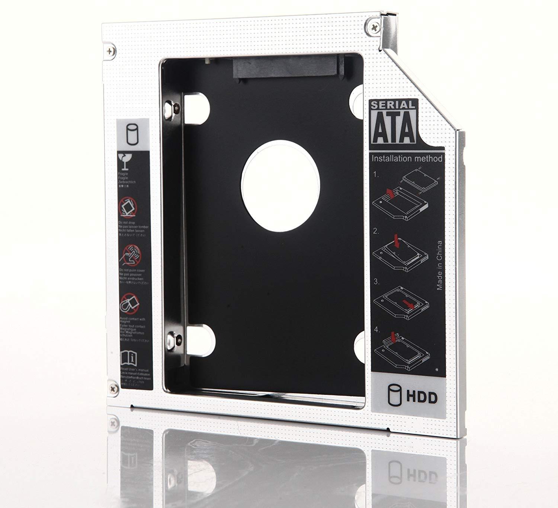 DY-tech 2nd SATA HDD SSD Enclosure Caddy for Fujitsu SH560 SH561 SH760 S6421 S6420 S6520