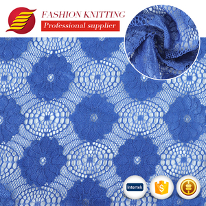 Good quality professional african net stretch lace fabric