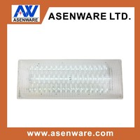 wall and ceiling mounted emergency exit lights