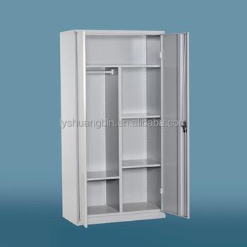 Mirror Door Steel Locker Cabinet Lockable Metal Cloth