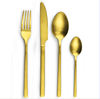 Gold plated cutlery / wholesale PVD coating copper cuttlery / flatware