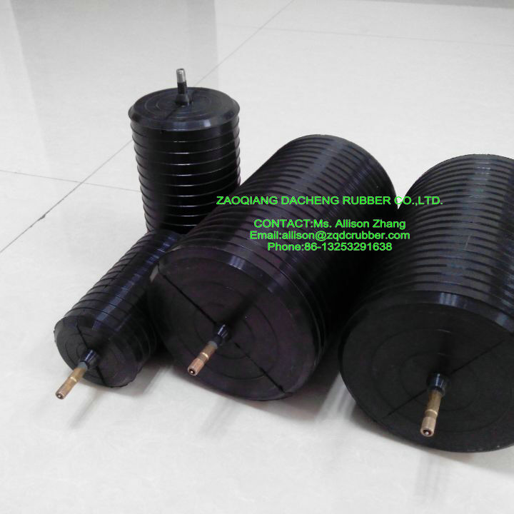 sealed plugging bags/closed water test ballon/Pipe stopper used to block pipeline with High Pressure