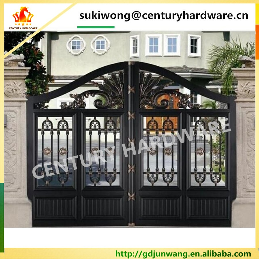2016 latest Decorative aluminum fence gate latest main gate design house  gate designs. 2016 Latest Decorative Aluminum Fence Gate latest Main Gate Design