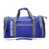 Customized colors portable foldable polyester travel gym sports duffle bag
