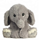 OEM Stuffed Plush Pink Sitting size elephant with big ear/factory direct plush elephant toy for kids play