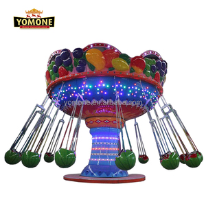 Children swing amusement park rides attraction of watermelon seats flying chair on sale