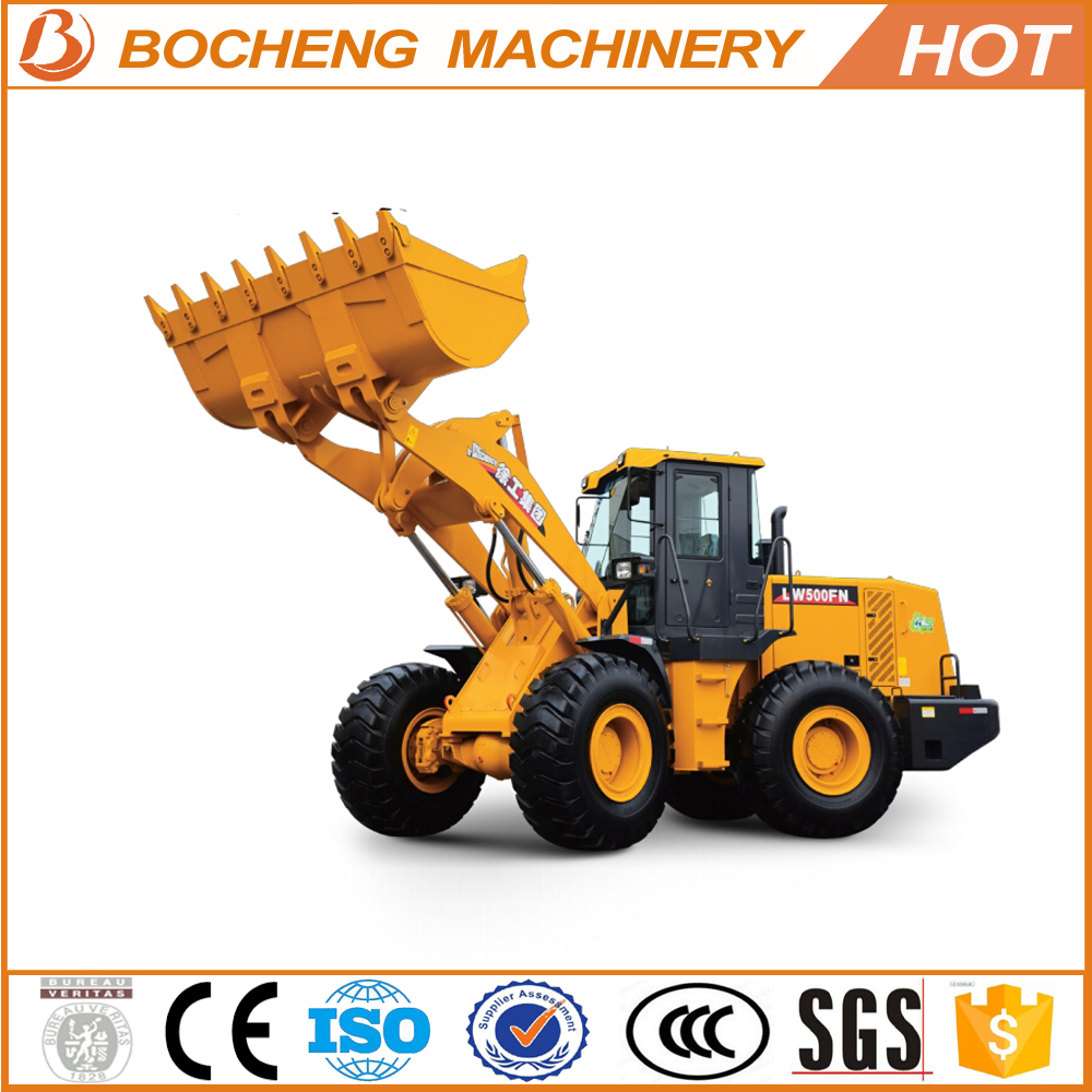5Ton Capacity 3CBM Bucket 162KW Engine LW500FN Wheel Loader for sale