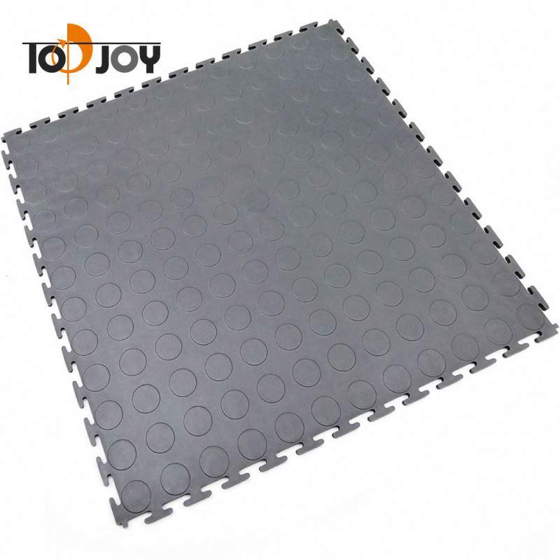 Industriële Grijpende Garage Vinyl Vloertegel Mat
