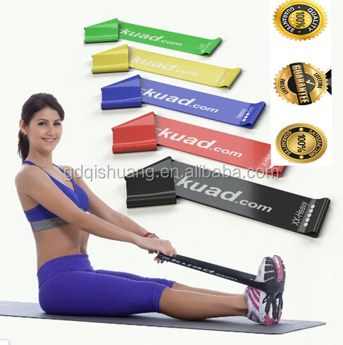 5pcs Strength Band Resistance Band Pack Training include 5 Bands