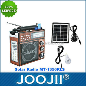 2015 New Recordable DSP AM/FM/SW1-2 4 BAND Solar Radio WITH USB/SD/TF LED Bulb