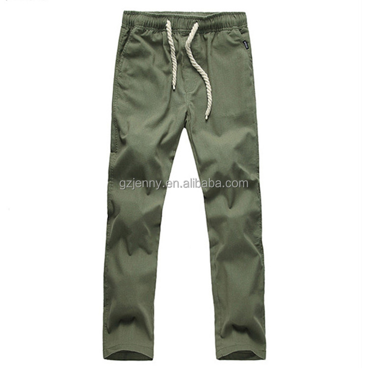 Low MOQ Sample Available Wholesale Man Straight Loose Fit Breathable Linen Pants
