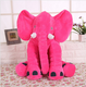 Customized supplier Elephant pillow and plush toy with low price