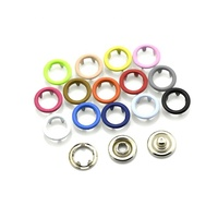 Fashion Ring Prong Pearl four Parts Press Metal Snap Button For Sale