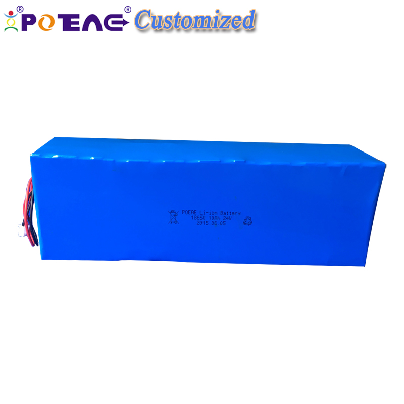Korean cell good quality 6s 3 p li-ion 24v 10000mah battery pack for electric vehicle