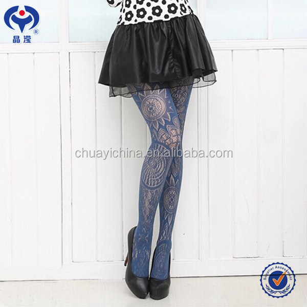 Sexy Girl Nylon lace dance stocking