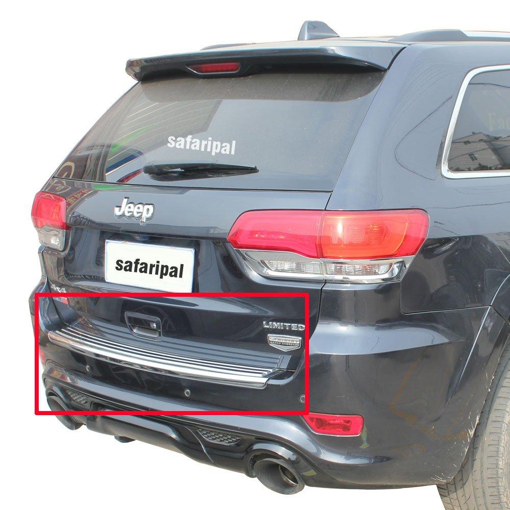 Safaripal Rear Bumper Trim Step Pad for Jeep Grand Cherokee 2011-2014 Chrome