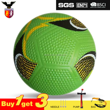 High Quality Rubber Football Street Soccer Ball