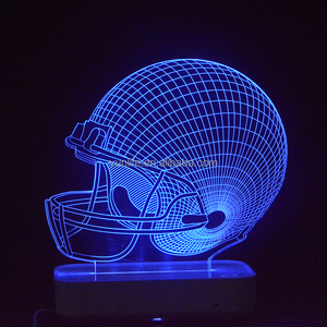 Automatic led night light Helmet shape for best selling lights touch light