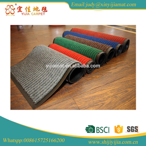 Double strip outdoor or indoor heavy duty door mat