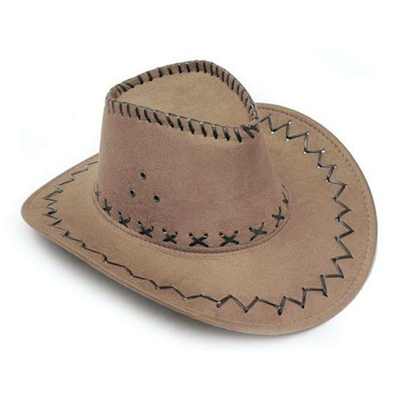 Detalle Comentarios Preguntas sobre Caqui sombrero de vaquero Suede ... 8aa911a02ed