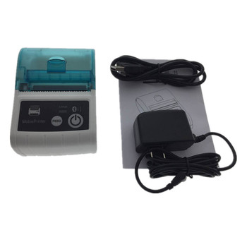 58mm mobile portable cheap mini bluetooth thermal printer hot sale