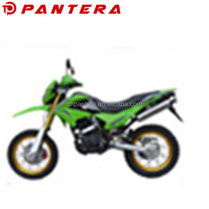 Supermoto For Africa Market Dirt Bike 250cc Gas Moped With Pedals