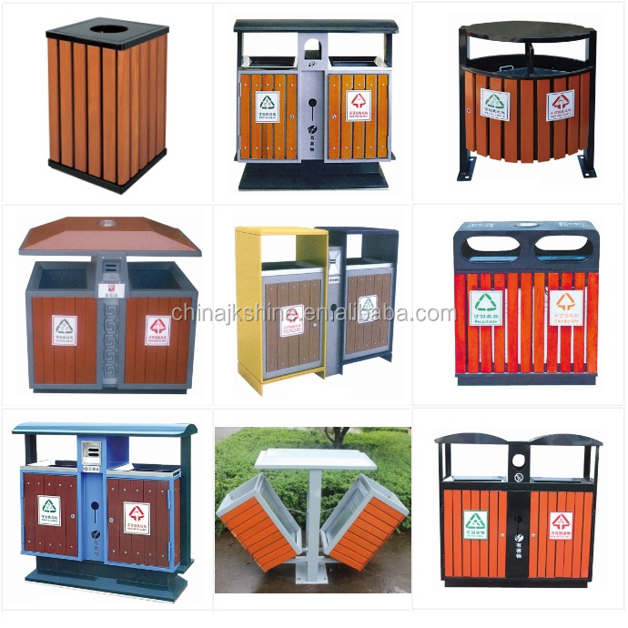 New Year Promotion Eco-friendly 120L Large Mobile Dustbin / Colored Plastic Pedal Trash Can / Classified Waste Bin for Japan