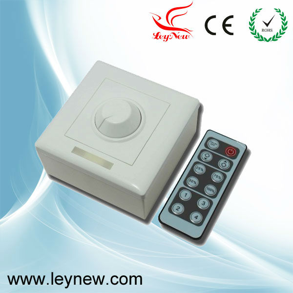 Professional quality infrared 12-Key triac AC90-240V dimmer