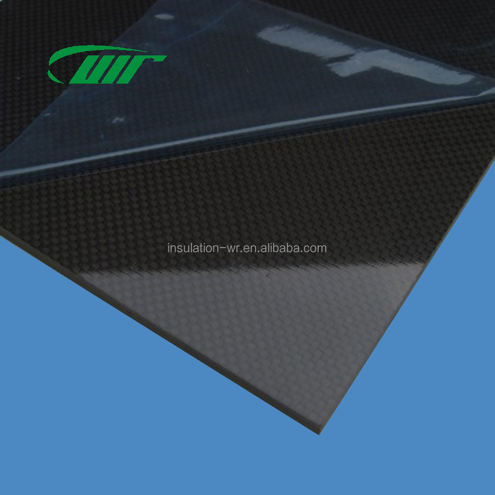 Film Cover 3K 100% Carbon Fiber Sheet Can Be Customized Twill/Tabby/Light/Matte High Strength