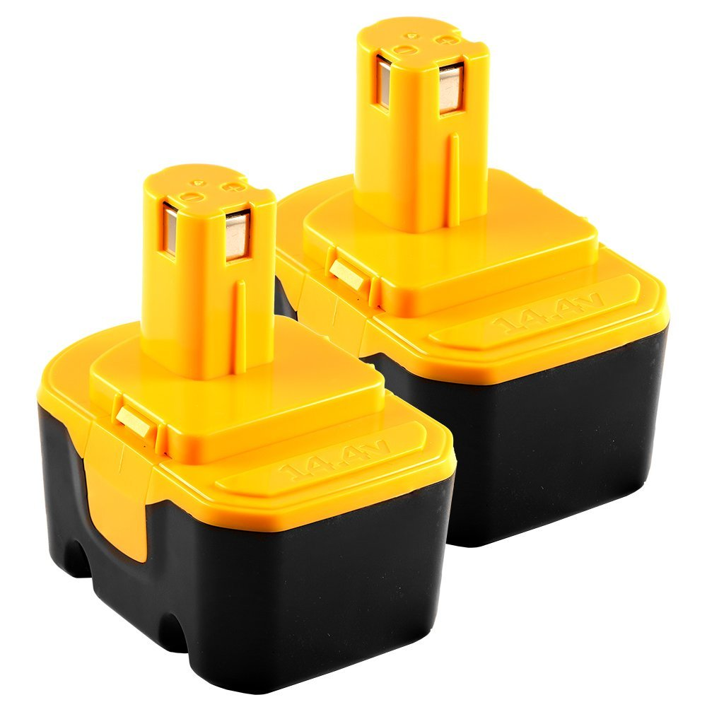 14.4V 1.5AH Replacement Battery for Ryobi CTH1442K2, FL1400 - 2 Pack - Mighty Max Battery brand product