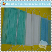 China Mainland Anti-Bacterial Colorful Surgical Face Mask