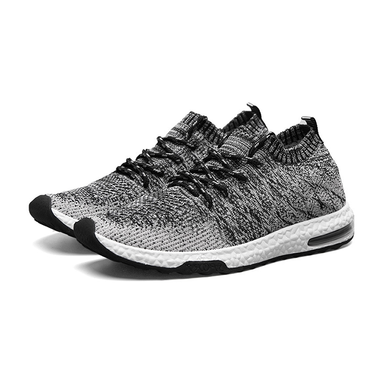 Latest Popular Fly Knit Sport Air Running Shoes Wholesale Shoes Women Sports Sneakers, Black;grey;orange;etc.