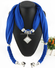 2016 Factory direct sale Charming Pendant Neck Scarf