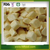 healthy and instant food Freeze dried Potato with fresh potato
