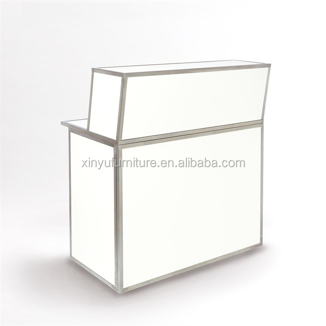 Acrylic bar counter furniture led for rental XYN1969