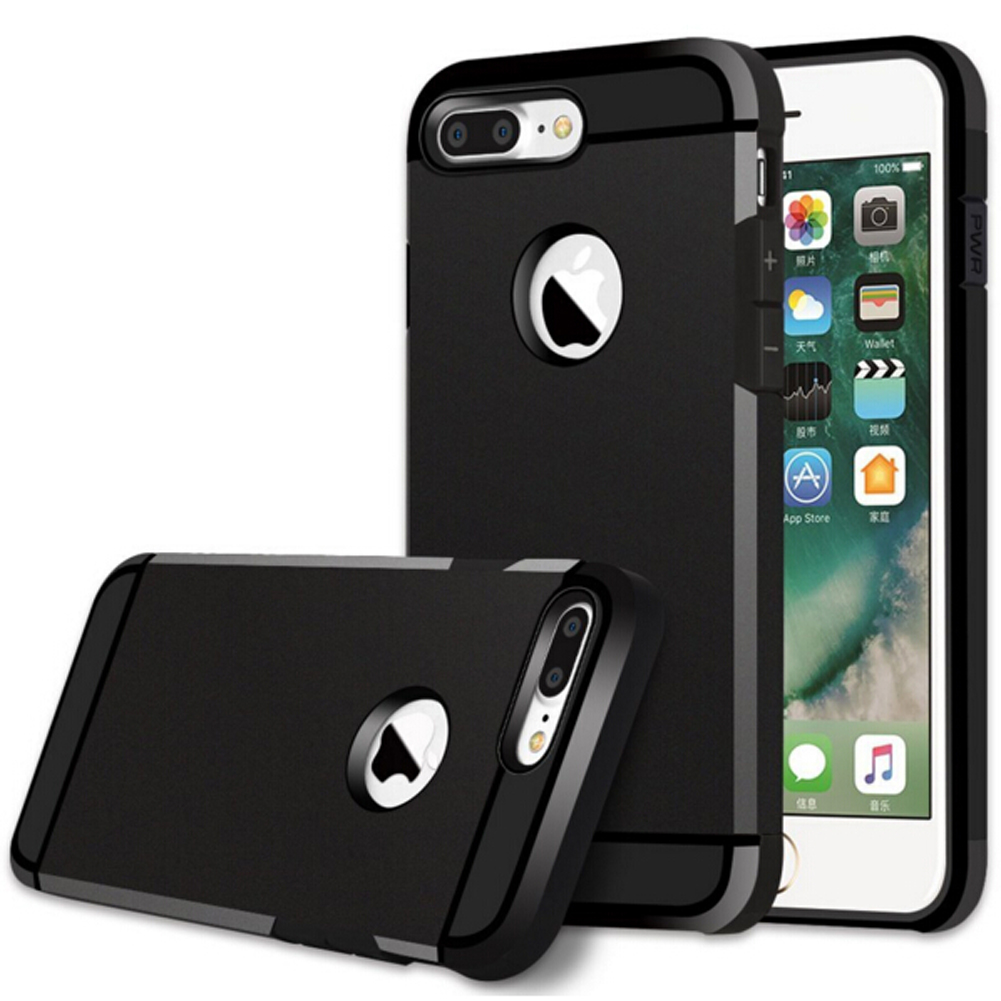 competitive price c25d3 4828f For iPhone 7 Silicone Case Hybrid Tough Armor Rugged Silicone Shockproof  Phone Cases Covers for iPhone 6s 7 Plus 5s SE Capa