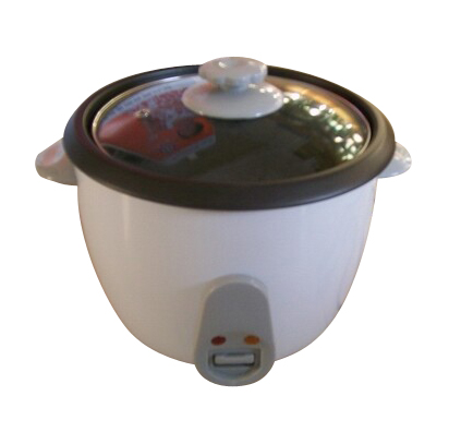 simple basic rice cooker with non stick coating bowl