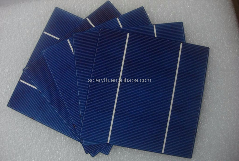 156*156mm 2BB Beat Polycrystalline Silicon Panel Solar Cell Price