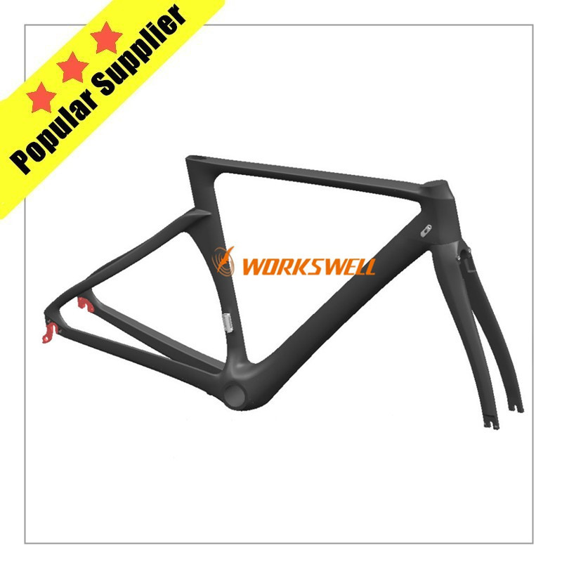 2016 NEW DEVELOPMENT WCB-R-081 1020g carbon road bicycle frame carbon fiber road bikes for sale road bicycle