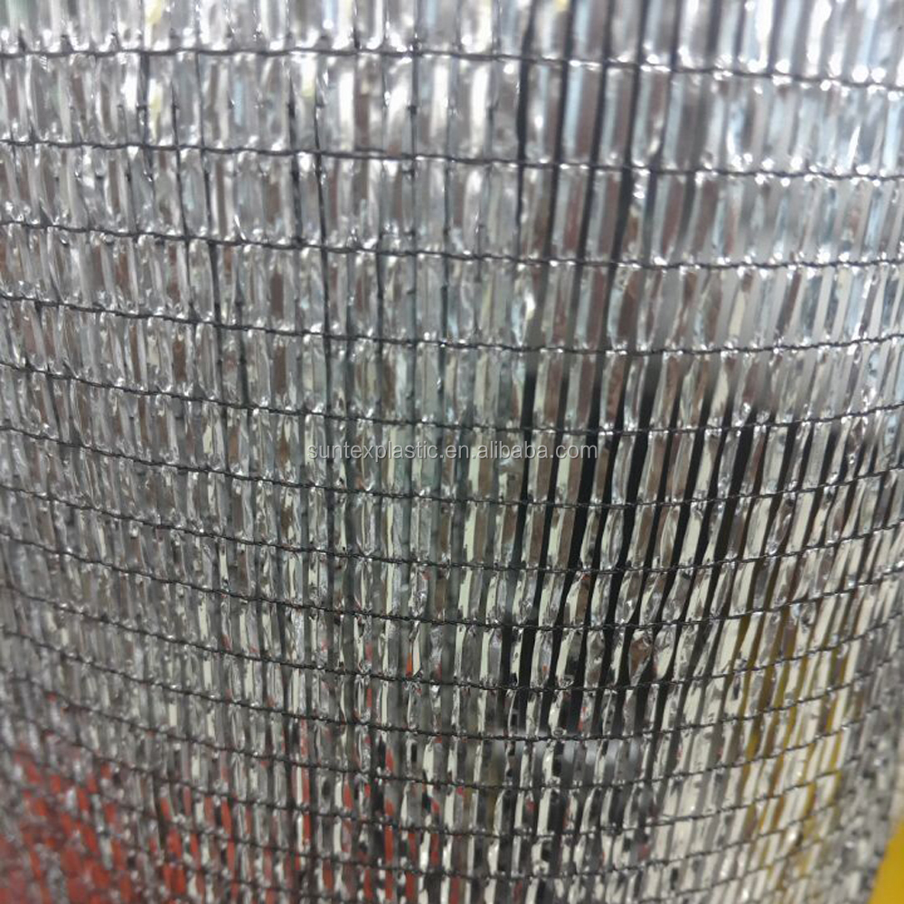 Aluminet shade cloth for greenhouse roof covering thermo