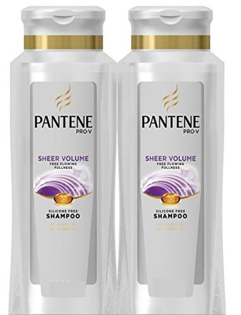 Pantene Pro-V Sheer Volume Shampoo,22.8 Fl Oz (Pack of 2) by Pantene