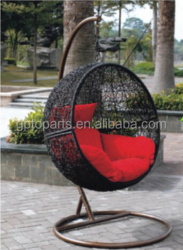 Gentil Hotsale Egg Shaped Swing Chair Indoor Hanging Chair With Frame Steel Base
