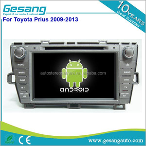 China Manufacturer touch screen android car radio dvd gps navigation system  For Toyota Prius 2009-2013