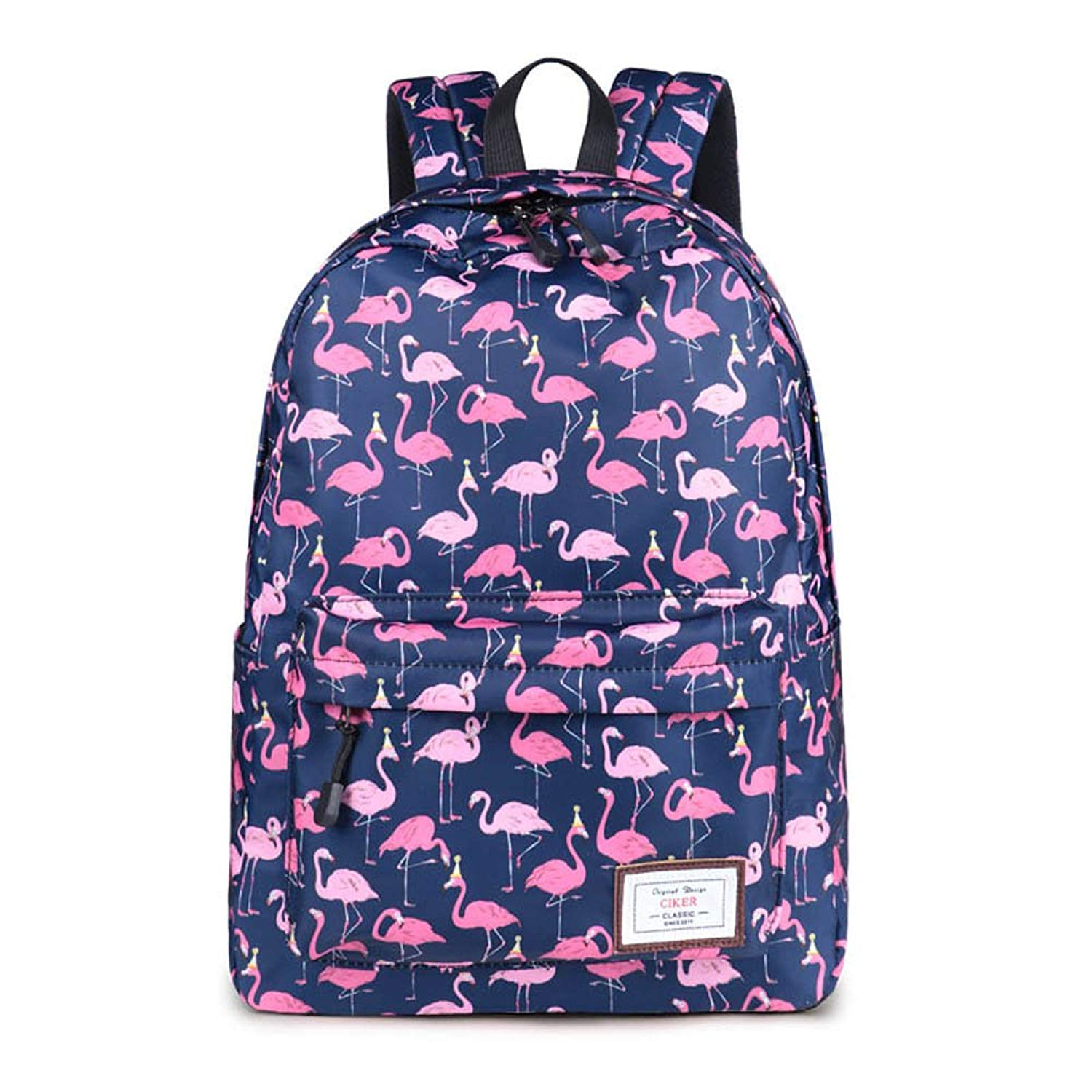 Get Quotations · CIKER Women Flamingo printing backpacks for teenage girls rucksack  cute school bags c398cd8b13ea8